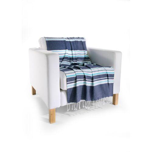 bonprix Hamam Tuch mit Streifen blau
