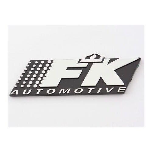 FK-Automotive Aufkleber Chrom 3D Autoaufkleber 3D FK Automotive Logo chrom