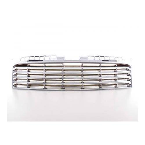 FK-Automotive Sportgrill Frontgrill Grill Audi A3 Typ 8P  03-05 chrom