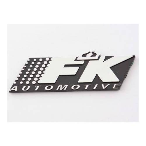 FK-Automotive Aufkleber Chrom 3D Autoaufkleber 3D FK Automotive Logo chrom