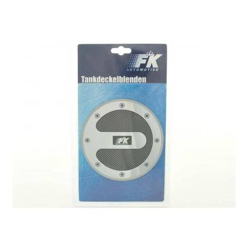 FK-Automotive Tankdeckelblende Fuel Cap Carbon Look Abdeckung Tankdeckel