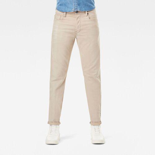 G-Star RAW Herren 3301 Slim Colored Jeans Beige