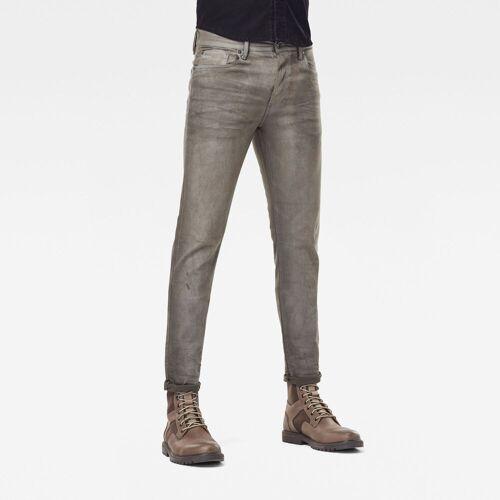G-Star RAW Herren 3301 Slim Colored Jeans Grau