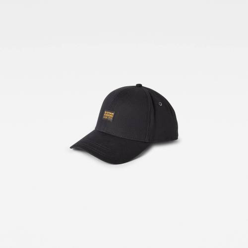 G-Star RAW Herren Originals Baseball Cap Schwarz