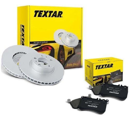 92092000 2325803 Textar Bremsscheiben + Bremsbeläge hinten für Bosch Bremsanlage Opel Astra G