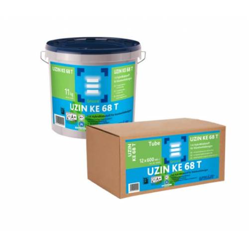 UZIN KE 68 T 1-K Hybridklebstoff für Wandverklebungen 11kg