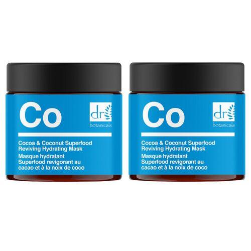 2x Kakao- & Kokosnuss-Maske