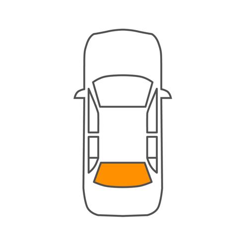 C70 II Cabriolet (542) Heckscheibe Saint-Gobain 8302102220 C70 II Cabriolet (542)