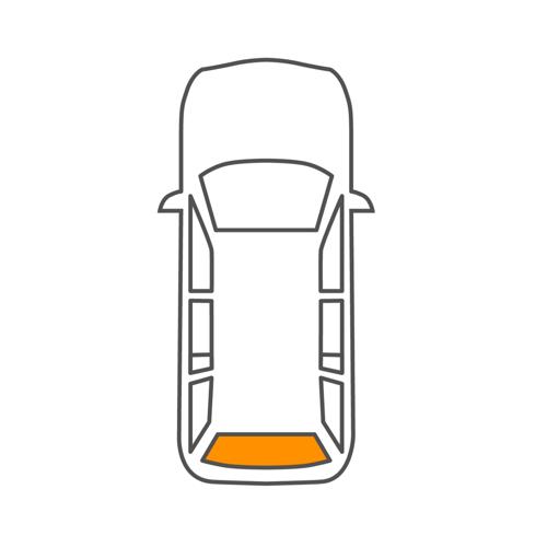 VITARA Cabrio (ET, TA) Heckscheibe Saint-Gobain 7301252020 VITARA Cabrio (ET, TA)