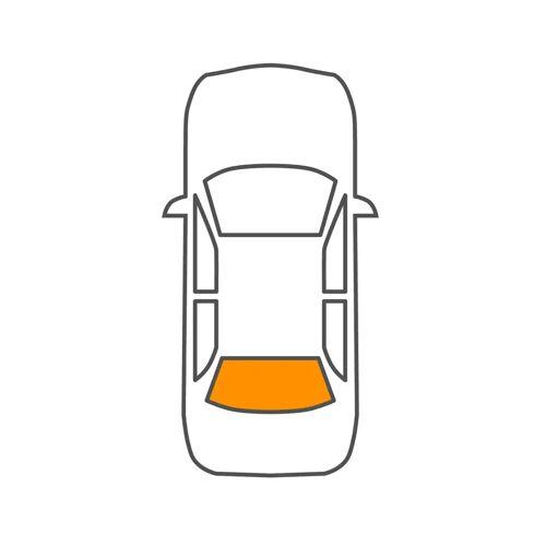 GOLF VI Cabriolet (517) Heckscheibe Saint-Gobain 8503802220 GOLF VI Cabriolet (517)