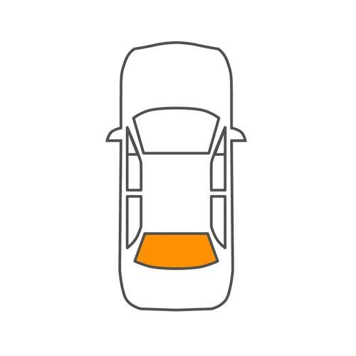 DS 3 Cabriolet Heckscheibe Saint-Gobain 1502652221 DS 3 Cabriolet