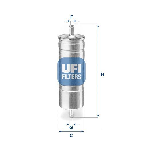 FREECLIMBER 2 Kraftstofffilter UFI 31.508.00 FREECLIMBER 2