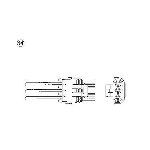 C3 Picasso (SH) Luftmassenmesser NGK 93740 C3 Picasso (SH)