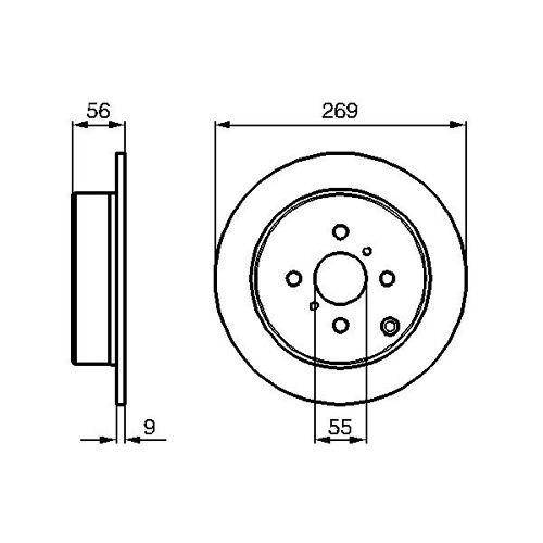 SAFARI (42_FD) Wischblatt vorne Bosch 3 397 118 306 SAFARI (42_FD)