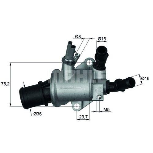 SX4 (EY, GY) Thermostat, Kühlmittel Behr TI 143 88 SX4 (EY, GY)