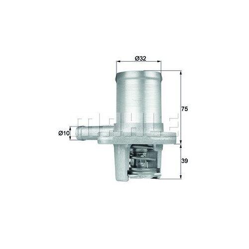 TWINGO I (C06) Thermostat, Kühlmittel Behr TI 40 89 TWINGO I (C06)