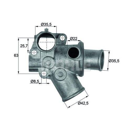 145 (930) Thermostat, Kühlmittel Behr TI 70 80D 145 (930)