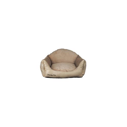 Trixie Hundekönig Bett - Hundebetten Hundesofa Hundekorb beige 60 x 45 cm