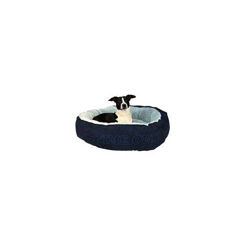 Trixie Bett Time Out - Hundebett Hundebetten Hundesofa Hundekorb blau/hellblau 90 cm