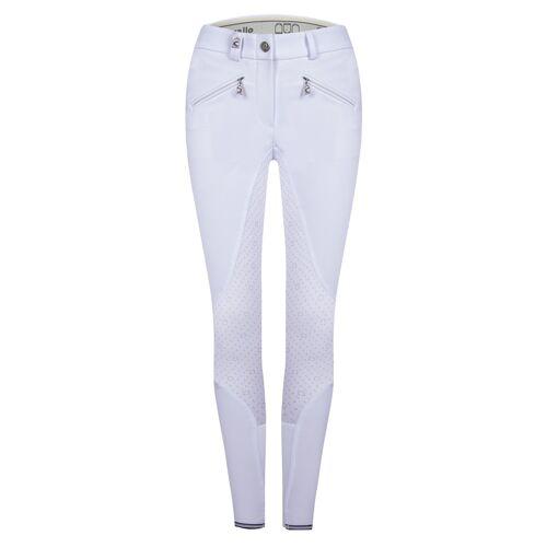 CAVALLO Caja Grip Reithose Damen Premium Soft  weiß