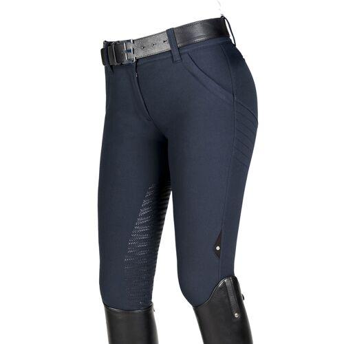 Equiline X-Shape Half Grip Reithose Damen , ,  blau