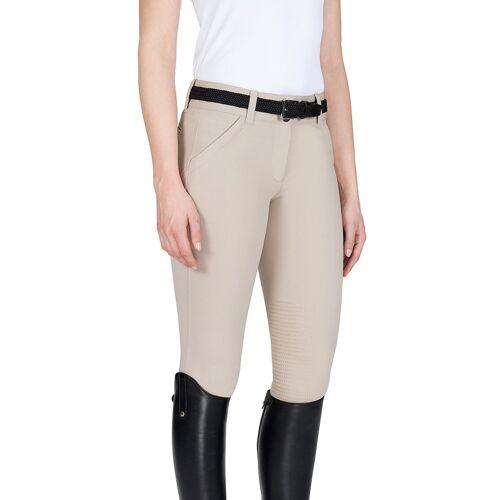 Equiline X-Shape Knee Grip Reithose Damen , , , , , ,  beige