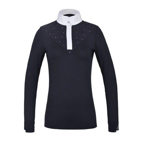 Kingsland KLiris langärmliges Turniershirt Damen  navy