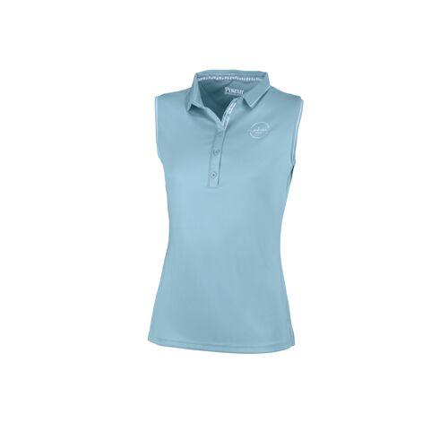 Pikeur Jarla Poloshirt ohne Arm Damen , ,  aquamarine