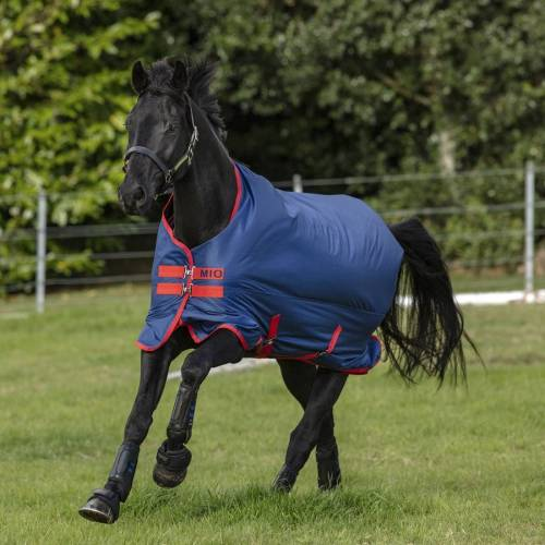 Horseware Amigo Mio Turnout Lite Weidedecke 0g  dunkelblau