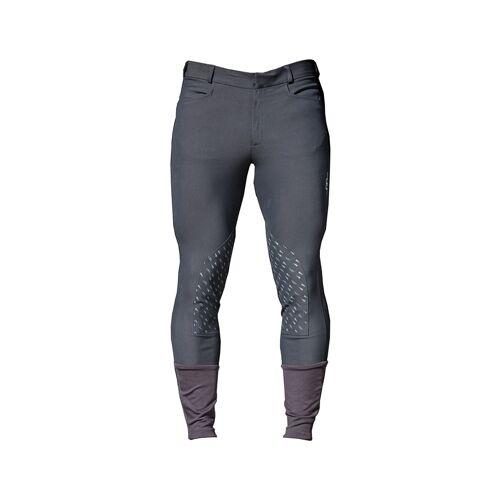 Horseware Platinum Silicon Reithose Herren Knee  charcoal