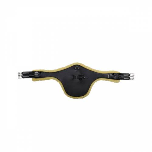 Kentaur Stollengurt Cassis mit Fell , , , , ,  schwarz