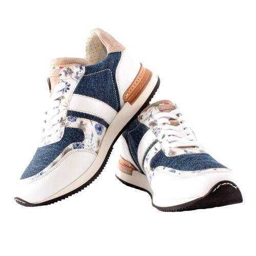 DeNiro Viceversa Sneaker , , , , , , , , , , , , ,  flower blue