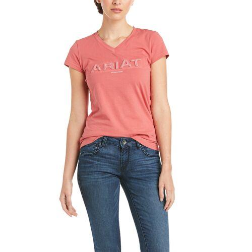 Ariat Amaranth 3D Logo T-Shirt Damen , , , ,  amaranth