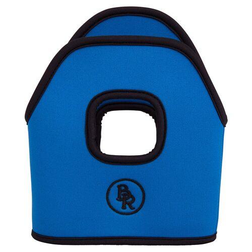 BR Steigbügelhüllen Neopren  blue