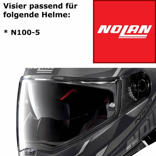 Nolan Visier für Helm N100-5 klar kratzfest
