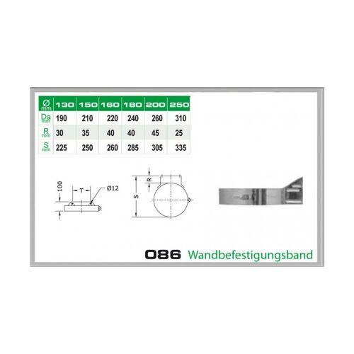 086/DN130 DW5 Wandbefestigungsband