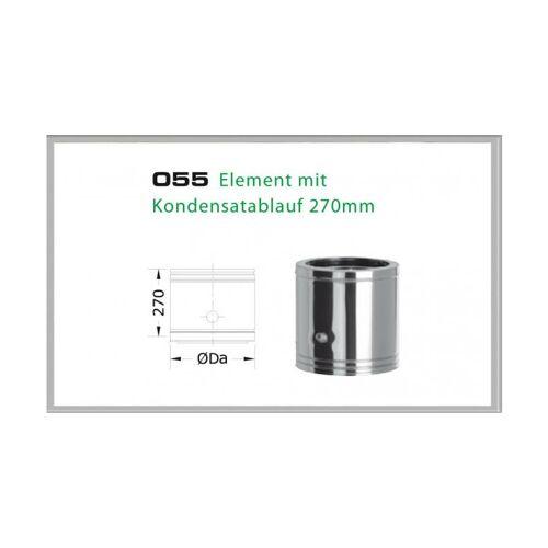 055/DN200 DW6 Element mit Kondensatablauf 330/270 mm