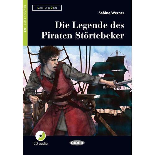 Klett Sprachen GmbH Die Legende des Piraten Störtebeker. Buch und Audio-CD