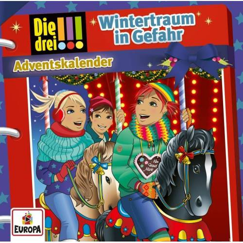 United Die drei !!! - Wintertraum in Gefahr (2 Audio-CD's) - Adventskalender