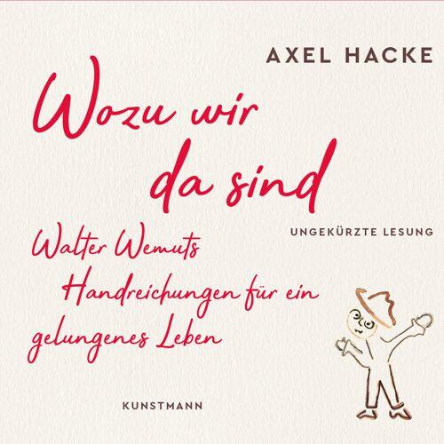 Verlag Antje Kunstmann Wozu wir da sind
