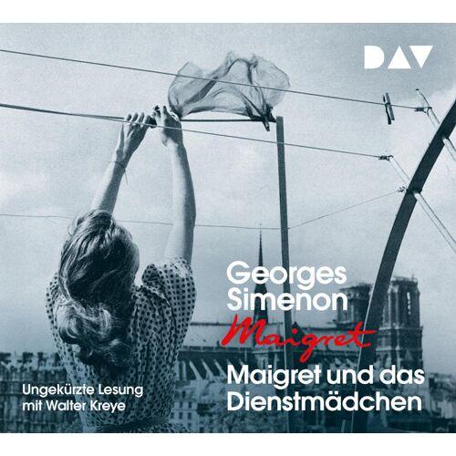 Audio Verlag Der GmbH Maigret und das Dienstmädchen
