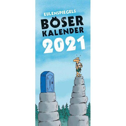 Eulenspiegel Verlag Eulenspiegels Böser Kalender 2021