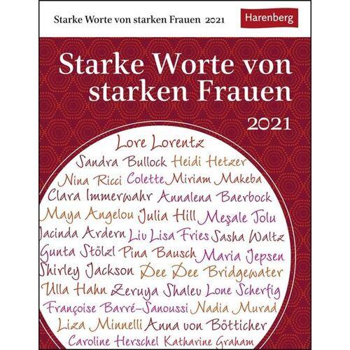 Harenberg u.Weingarten Starke Worte von starken Frauen 2021