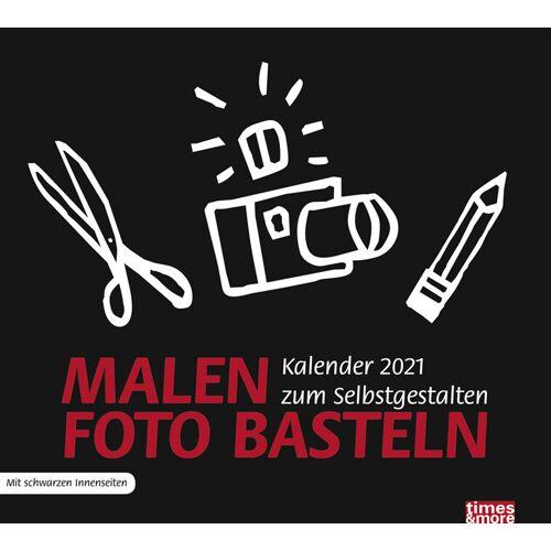 Heye times & more Bastelkalender 2021 schwarz