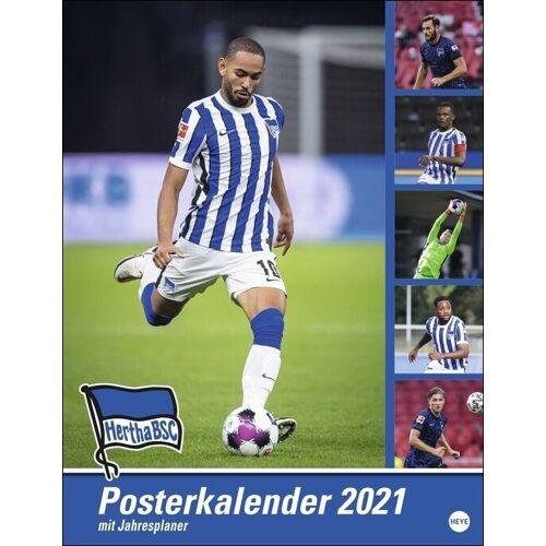 Heye Hertha BSC Posterkalender 2021