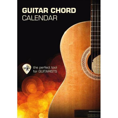 Cc Guitar Chord Calendar (Gitarren Akkord Kalender)