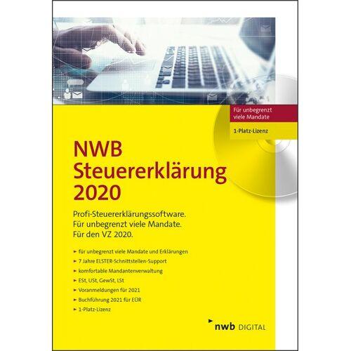 NWB Verlag NWB Steuererklärung 2020 - 1-Platz-Lizenz