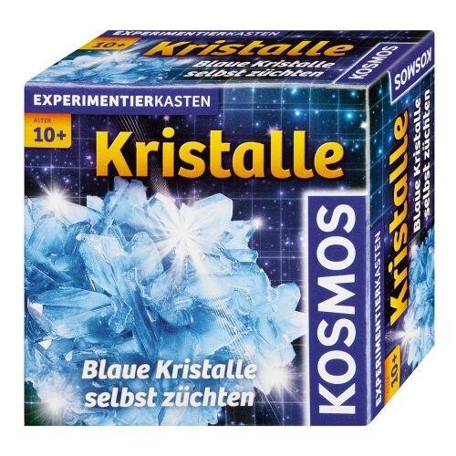 KOSMOS - Kristalle blau - Blaue Kristalle selbst züchten