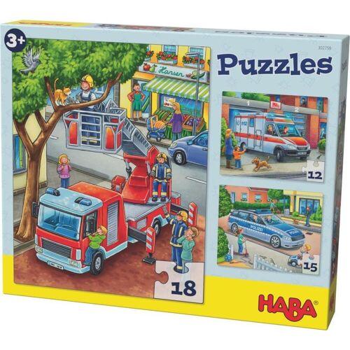 HABA - Puzzles Polizei Feuerwehr und Co.