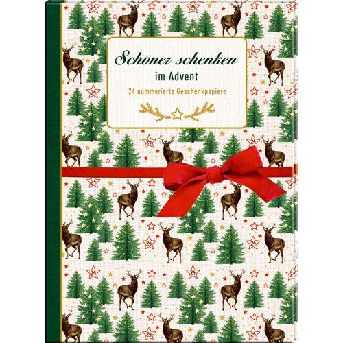 Coppenrath F Geschenkpapier-Buch - Schöner schenken im Advent